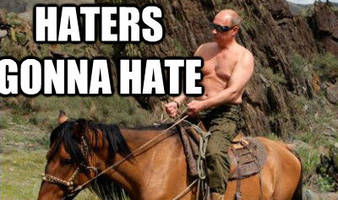 of russia baiters and putin haters