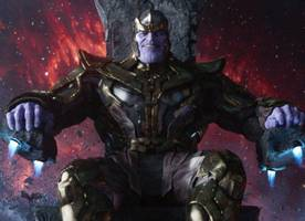 'Avengers: Infinity War' Reveals First Full Look of Thanos at D23