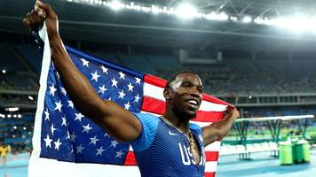 US sprinter Roberts ingested banned substance by kissing girlfriend