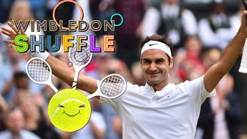 wimbledon 2017: three-racquets federer, battling cilic & man in a dress