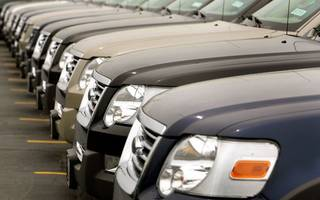 sales of new cars in the uk fell again last month