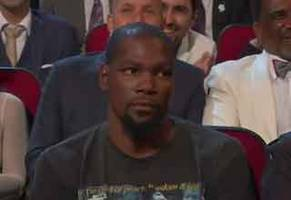 kevin durant got roasted by peyton manning at last nights espy awards