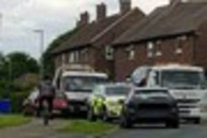 Three arrested for drugs offences after sightings of police...