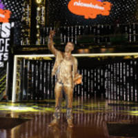 stephen curry, serena williams, russell westbrook, odell beckham jr., simone biles, kevin durant, laurie hernandez, keala kennelly, claressa shields, usain bolt and host russell wilson win at nickelodeon's kids' choice sports 2017