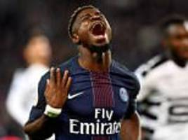 psg leave aurier, ben arfa and krychowiak out of tour team