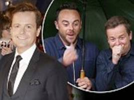 declan donnelly will not return to the jungle with holly