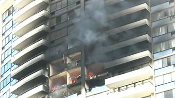 hawaii fire: at least three feared dead in honolulu flats
