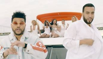 french montana and the weeknd having fun in nyc in new 'a lie' video