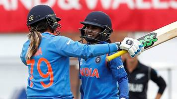 india beat new zealand to seal semi-final place
