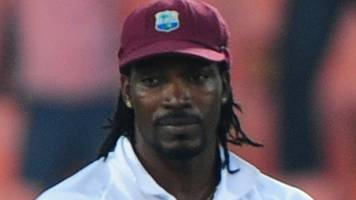 england v west indies: chris gayle among big names left out of test squad
