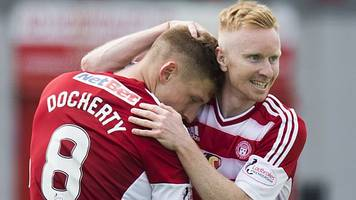 cup wins for queen of the south & accies