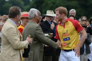 princes william and harry back home in gloucestershire together