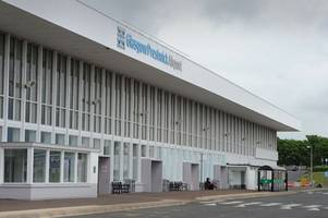 air france flight forced to make emergency landing at prestwick airport over fears of fire on board jet