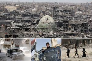 isis' last stand: how bloody final battle for mosul took place in tiny 150-yard street strewn with bodies