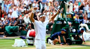 roger federer defies age to win wimbledon for a record-beating 8th time