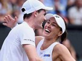 murray wins wimbledon! jamie takes the mixed doubles title