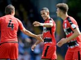 bury 1-3 huddersfield: new signings mounier and ince score