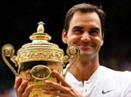 roger federer's magnificent eight wimbledon triumphs