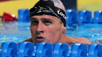ryan lochte: court dismisses robbery claim charges against us swimmer
