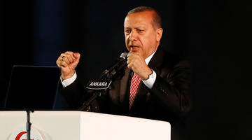 Erdogan Threatens To Chop Off Heads Of Traitors On Coup Anniversary