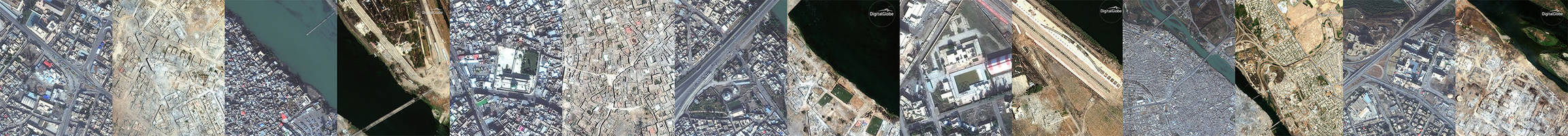 shocking before and after satellite photos from mosul