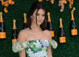 kendall jenner bares her underboob and tiny waist in latest selfie