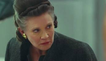 watch carrie fisher's final 'star wars' appearance in 'the last jedi'