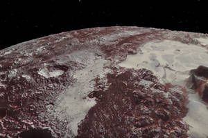 feel like you're zooming over pluto and its moon charon with nasa's new 3d animations