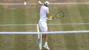 wimbledon 2017: remarkable reverse winner from jamie murray in mixed doubles final
