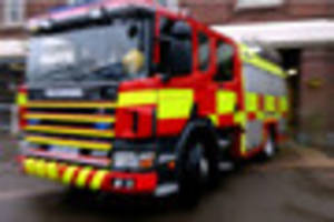 Police arrest man on suspicion of arson with intent to endanger...