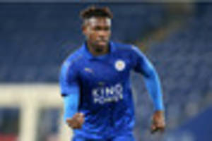 leicester city's darnell johnson and england under-19s win...