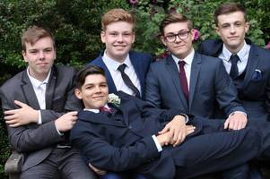 the st lawrence academy pupils celebrate prom - pictures