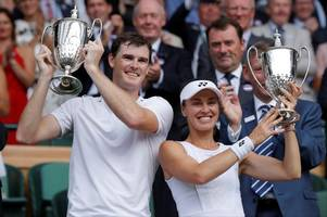 jamie murray and martina hingis crowned wimbledon mixed doubles champions 10 years on from scot's last sw19 title