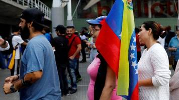 venezuelans vote in unofficial poll over new constituent body