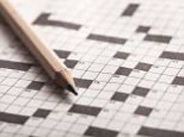 Daily crossword can keep your brain 10 years younger