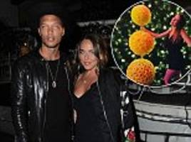 jeremy meeks' ex shares a family snap at disney