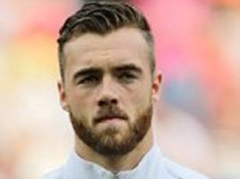 arsenal's calum chambers is a target for crystal palace