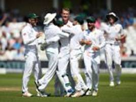 England crushed by South Africa in second Test defeat