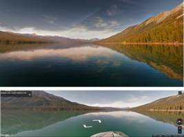 Google is turning Street View imagery into pro-level landscape photographs using artificial intelligence