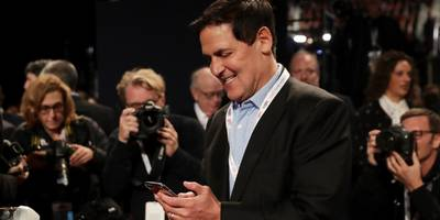 how box's founders got mark cuban to invest in their startup while they were still in college — without ever meeting him