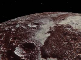 a new nasa video shows pluto in exquisite detail