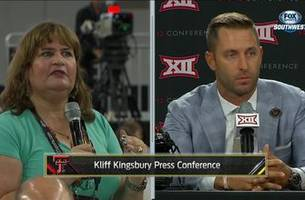 Kliff Kingsbury on the head coach youth movement in the Big 12