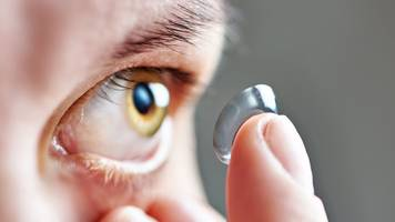 Surgeons remove 27 contact lenses from woman's eye