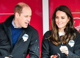 Kate Middleton Shows Off Rare PDA With Prince William During Wimbledon