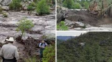 US: 9 people drowned after flash flood struck swimmers in Arizona national forest area