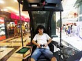 Chinese mall brings in 'husband storage pods' for wives