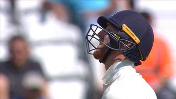 england v south africa: stokes caught and bowled by philander