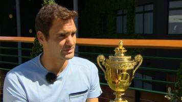 roger federer inspired by 'sporting legends' like bolt and schumacher