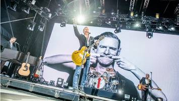 big weekend: crowds turn out for games and bryan adams