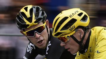 Tour de France 2017: Luke Rowe backs Chris Froome for fourth success